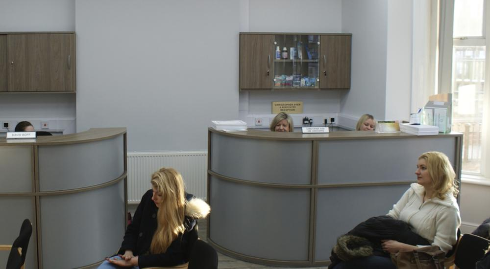 Ayer Dental Practice Hull - WAITING ROOM